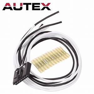 7 Wire Pigtail Blower Motor Resistor Plug Connector For