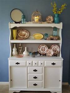 hometalk upcycled china laminate hutch using paint With kitchen cabinets lowes with canvas mason jar wall art