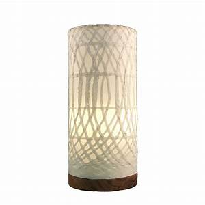 Eangee home designs paper cylinder arches natural layered for Paper cylinder floor lamp