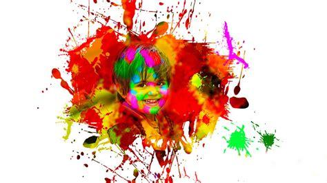 color splatter color splatter effect in photoshop holi special