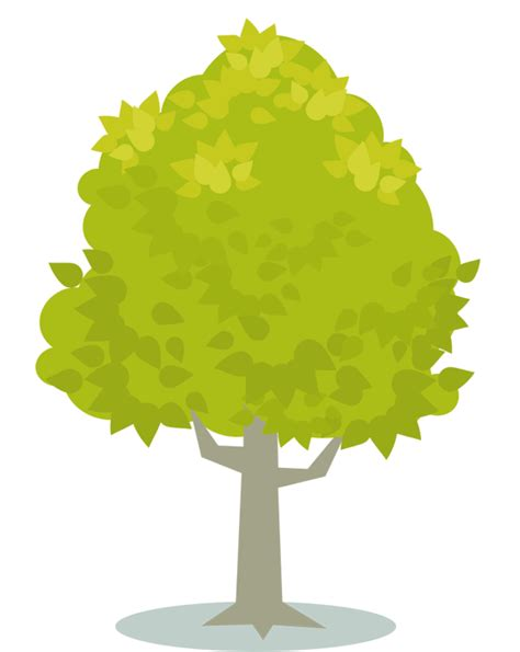 yellow trees clipart   cliparts  images
