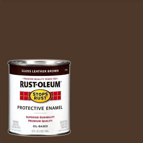 Rustoleum Stops Rust 32 Oz Black Gloss Protective Enamel