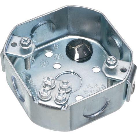 fan rated octagon box arlington fbs415 octagonal fan and fixture joist mounting