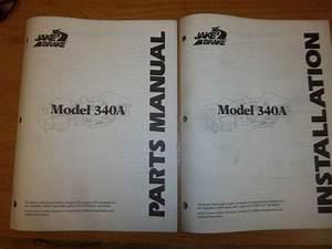 Purchase Jake Engine Brake Parts  U0026 Installation Manual Model 340a Caterpillar 3406e Motorcycle