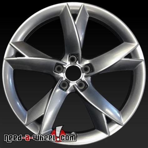 audi  wheels oem   silver rims