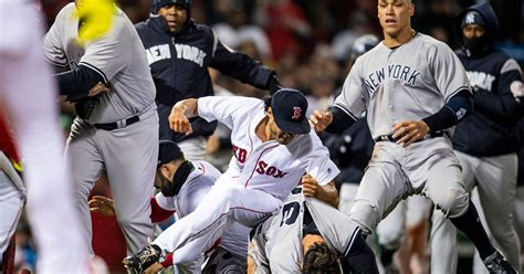 recap   red sox yankees brawl fox sports