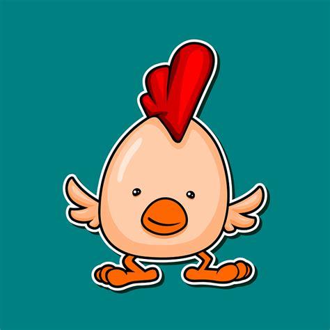 gambar animasi anak ayam lucu