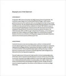artist statement template best resumes