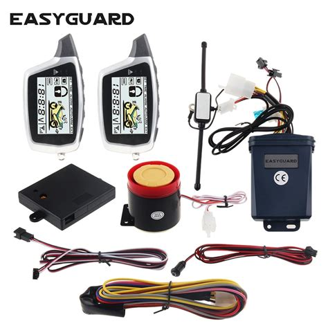 aliexpress buy quality easyguard 2 way motorcycle alarm system microwave detecting
