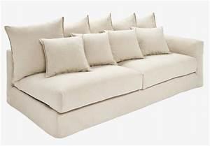 barington ii canape 3 places accoudoir droit en tissu With canapé droit 3 places pas cher