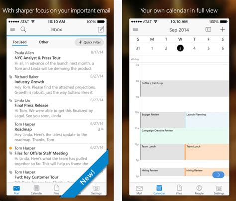 microsoft updates outlook for ios app with new improvements and bug fixes mspoweruser
