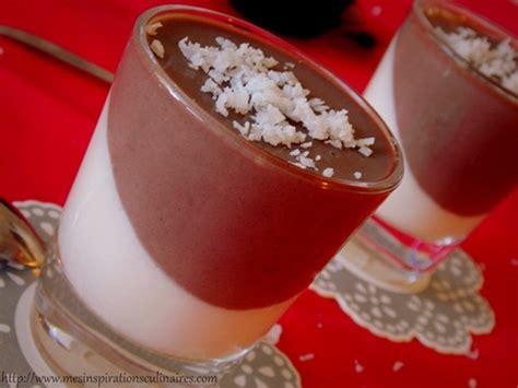 panna cotta au lait de coco et cacao 224 l agar agar dessert sp 233 cial diab 233 tique le