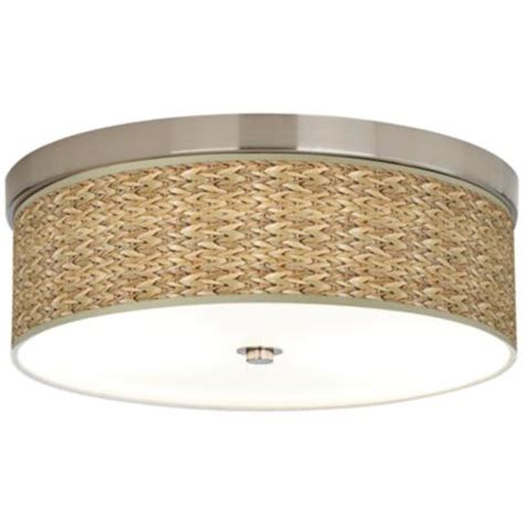 seagrass giclee energy efficient ceiling light h8796
