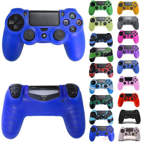 Silicone Rubber Skin Cover Protective Case For Playstation