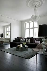 Heller Boden Dunkle Möbel : wohnzimmer modern einrichten 59 beispiele f r modernes innendesign ~ Bigdaddyawards.com Haus und Dekorationen
