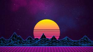 Retrowave 80's BG by Rafael-De-Jongh on DeviantArt