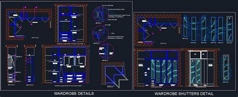 bedroom lighting l shape wardrobe walk in closet detail plan n design