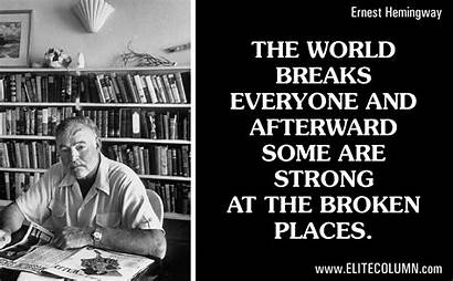 Quotes Hemingway Ernest Elitecolumn Mind