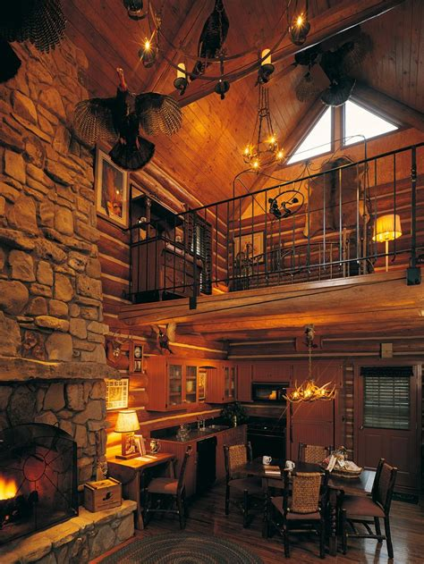 log cabin lodge two bedroom cabin with loft branson missouri