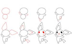 how to draw pichu