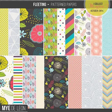 fleeting patterned papers pattern paper pattern paper