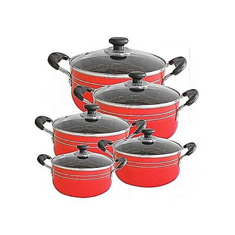 buy seemann heavy  stick cooking pots cookware set