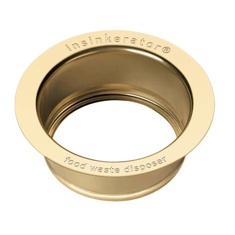 what is a kitchen sink flange insinkerator 4 5 in gold steel garbage disposal