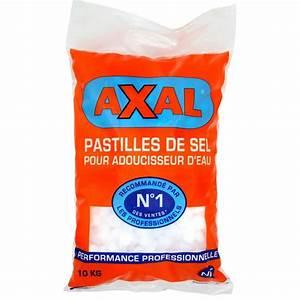 Sel Adoucisseur Axal : sac de sel pour adoucisseur axal 10 kg avec 2 sur la ~ Nature-et-papiers.com Idées de Décoration