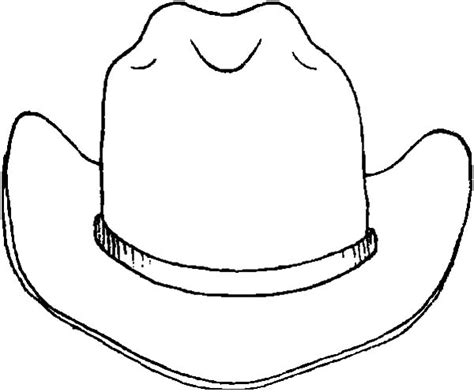 cowboy hat drawing clipart