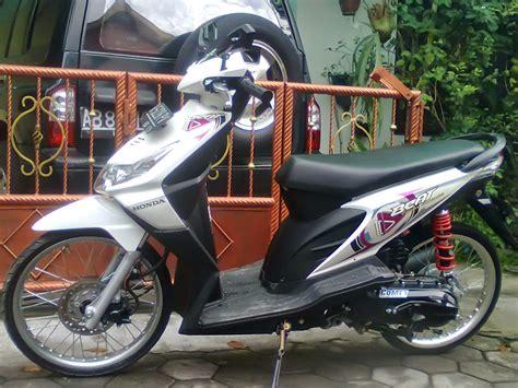 Modipikasi Honda Beat by Modifikasi Honda Beat Tahun Thecitycyclist