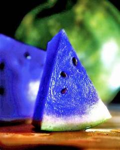 Anything Blue | Blue Watermelon and other food - Anything Blue
