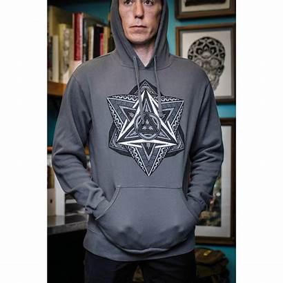 Hooper Sweatshirt Thomas Hooded Grey Ashes Diamonds