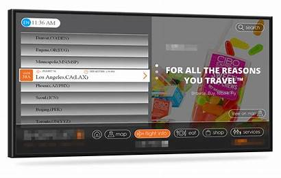 Directory Digital Screen Touch Interactive Signage Wayfinding