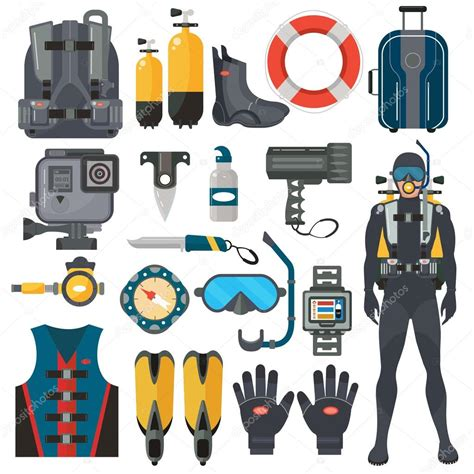Dive Equipment Equipments Ticabo Diving Center