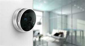 Smart Home Camera With Thermometer   Pir Sensors