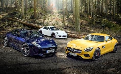 Comparison Test Of The 2016 Mercedes-amg Gt