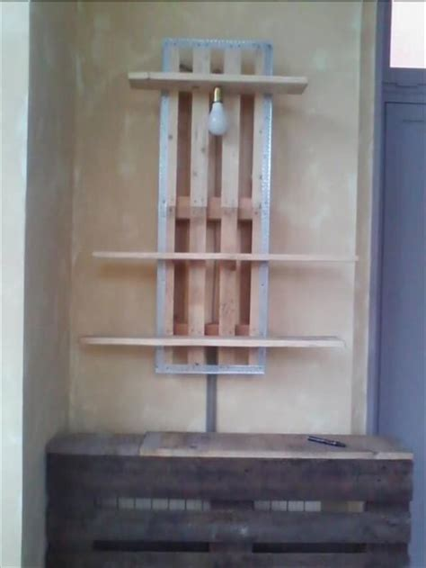 diy rustic pallet shelf ideas diy