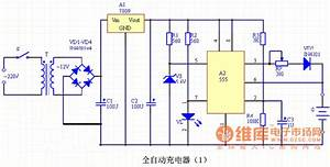 555 Ic Automatic Battery Charger Circuit Diagram 1