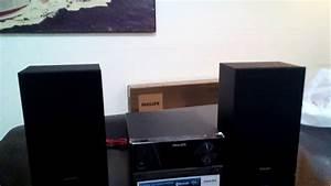 Unboxing Micro Componente Philips Btm2310  77