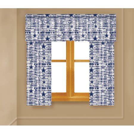 Drapes Dallas - nfl dallas cowboys window curtain panels walmart