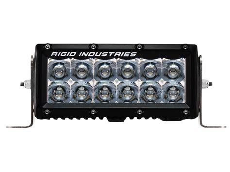 rigid light bar rigid industries 6 inch e series led light bar flood