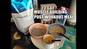 Pre And Post Workout Meals Bodybuilding