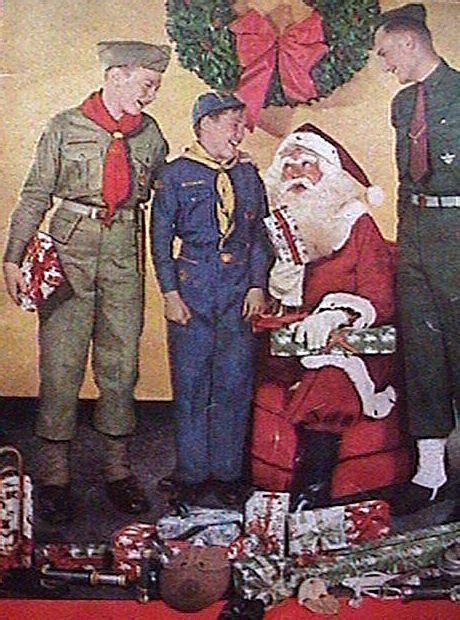 boy scouts and christmas - Google Search | Scout Stuff ...