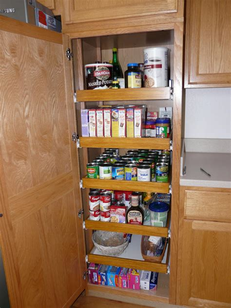 pantry cabinet with pull out shelves kitchen pantry cabinet pull out shelf storage sliding shelves