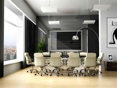 modern bureau modern office meeting room office conference room