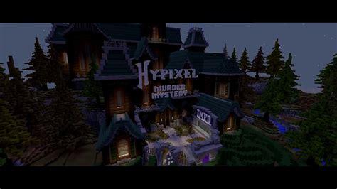 minecraft hypixel murder mystery lobby map