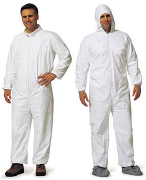 disposable protective lead abatement clothing