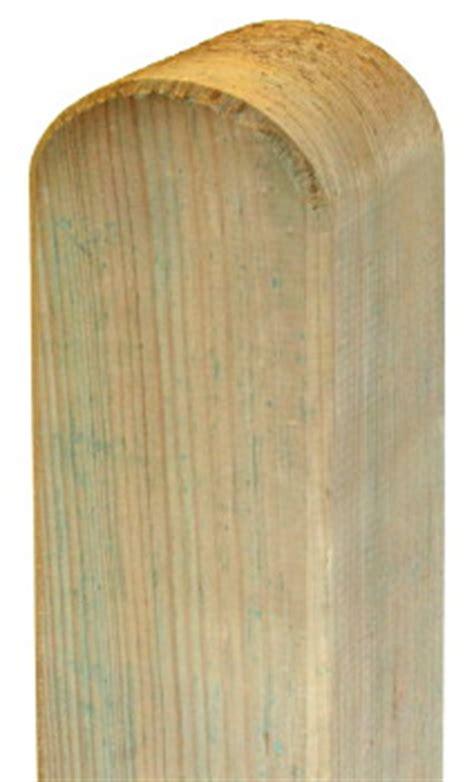 holzpfosten 200 cm holzpfosten standard 9x9cm ab 4 99eur rundkopf f 252 r