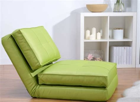 si鑒e d appoint fauteuil chauffeuse convertible en lit d 39 appoint vert
