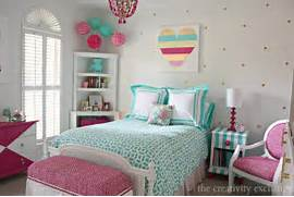 Little Girl S Room Revamped To Bright And Bold Tween Room Some Inspirational Teen Rooms For Girls They Are From Pbteen Bedroom Tween Bedroom Ideas For Girls Tween Bedroom Ideas Bedroom Girl Bedroom Teenage Girl Bedroom Ideas Bedrooms Decorating Tween Girl